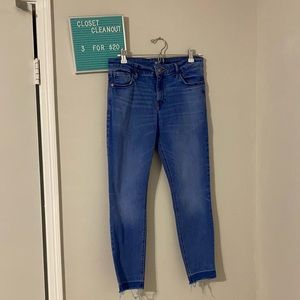 3for$20 skinny jeans frayed